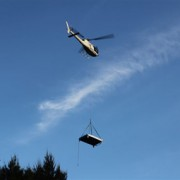 Condensers placed in by helicopter