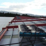 Roof top condensers